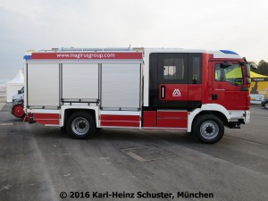 Vorführfahrzeug Magirus HLF 20 (h) Kopie