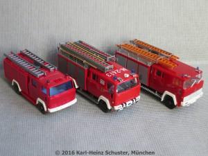 60.02.6 Modelle des LF von Wiking, Roco und Heico
